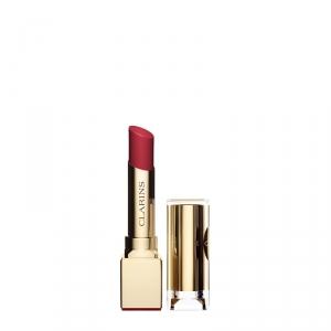 ROUGE ÉCLAT Le 1er Rouge à Lèvres Anti-Âge Clarins Couleur Satin