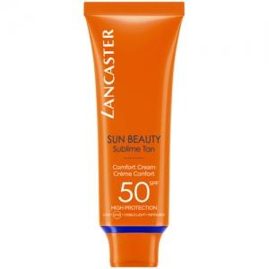 SUN BEAUTY Crème Confort Hâle Lumineux SPF 50