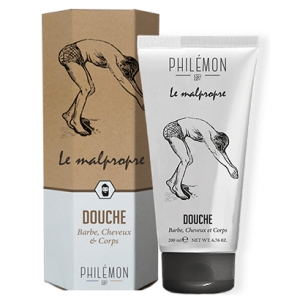 LE MALPROPRE Shampooing Douche Barbe, Cheveux & Corps