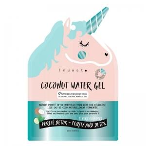COCONUT WATER GEL Masque Visage Pureté Detox Menthe & Citron Vert Bio Cellulose Eau de coco