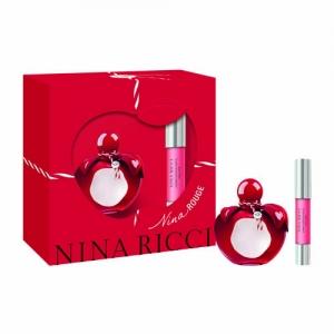 Coffret Nina Rouge Eau de Toilette 50ml & Lipstick