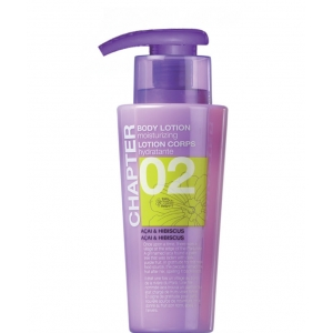 CHAPTER 02 LOTION CORPORELLE Açai & Hibiscus