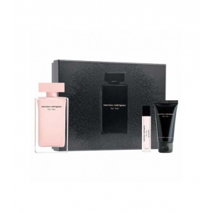 COFFRET FOR HER Eau de Parfum 100 ml + Lait Corps 50 ml + Vapo Sac 10 ml
