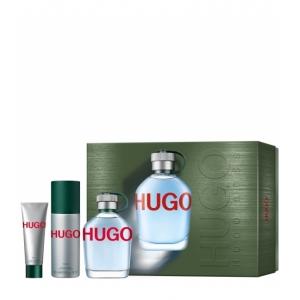 COFFRET HUGO MAN Eau de Toilette 125 ml + 2 Produits