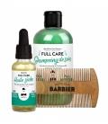 FULL CARE Coffret Cadeau Barbe & Cheveux pour hommes