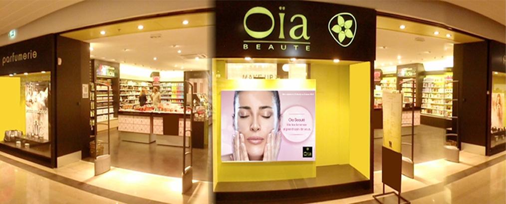 image vitrine boutique Oïa beauté